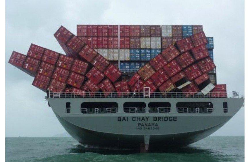 Deterioro de mercancías en el transporte marítimo